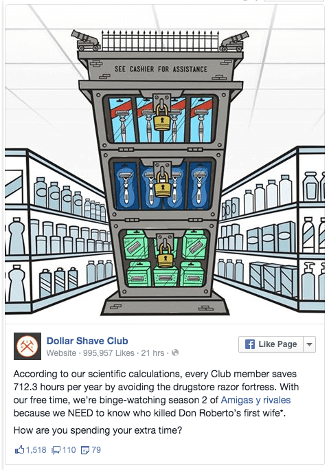 dollar shave club, daren curtis, blog, marketing, reklamna agentura