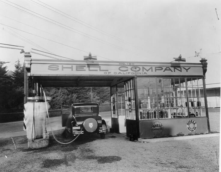 shell benzínová pumpa čerpacia stanica