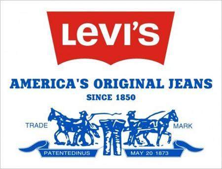 levis logo značka