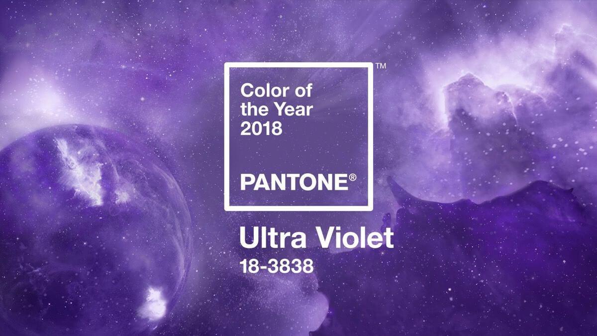 Farbou roka 2018 sa stala ultrafialová