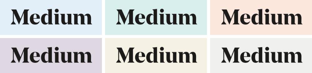 Pastelove farby logo Medium