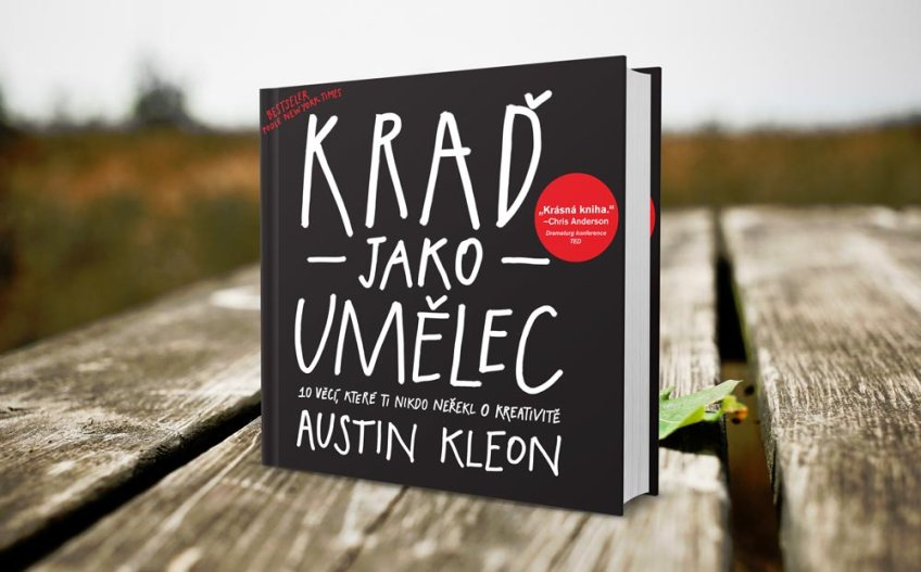 kniha krad jaako umelec | knihy marketing | daren&curtis
