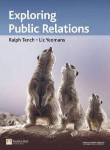 kniha exploring public relations
